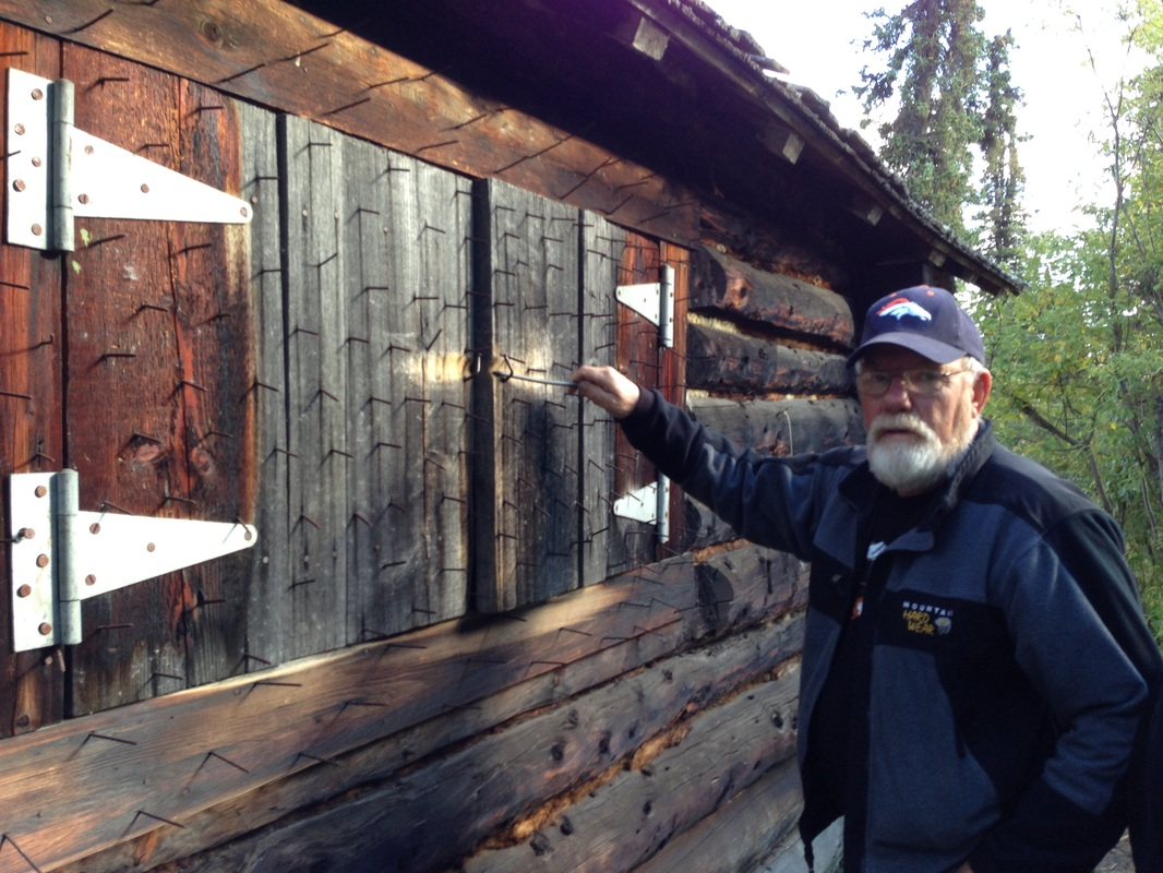 Alaska Log Cabin Original Version Finding Alaska